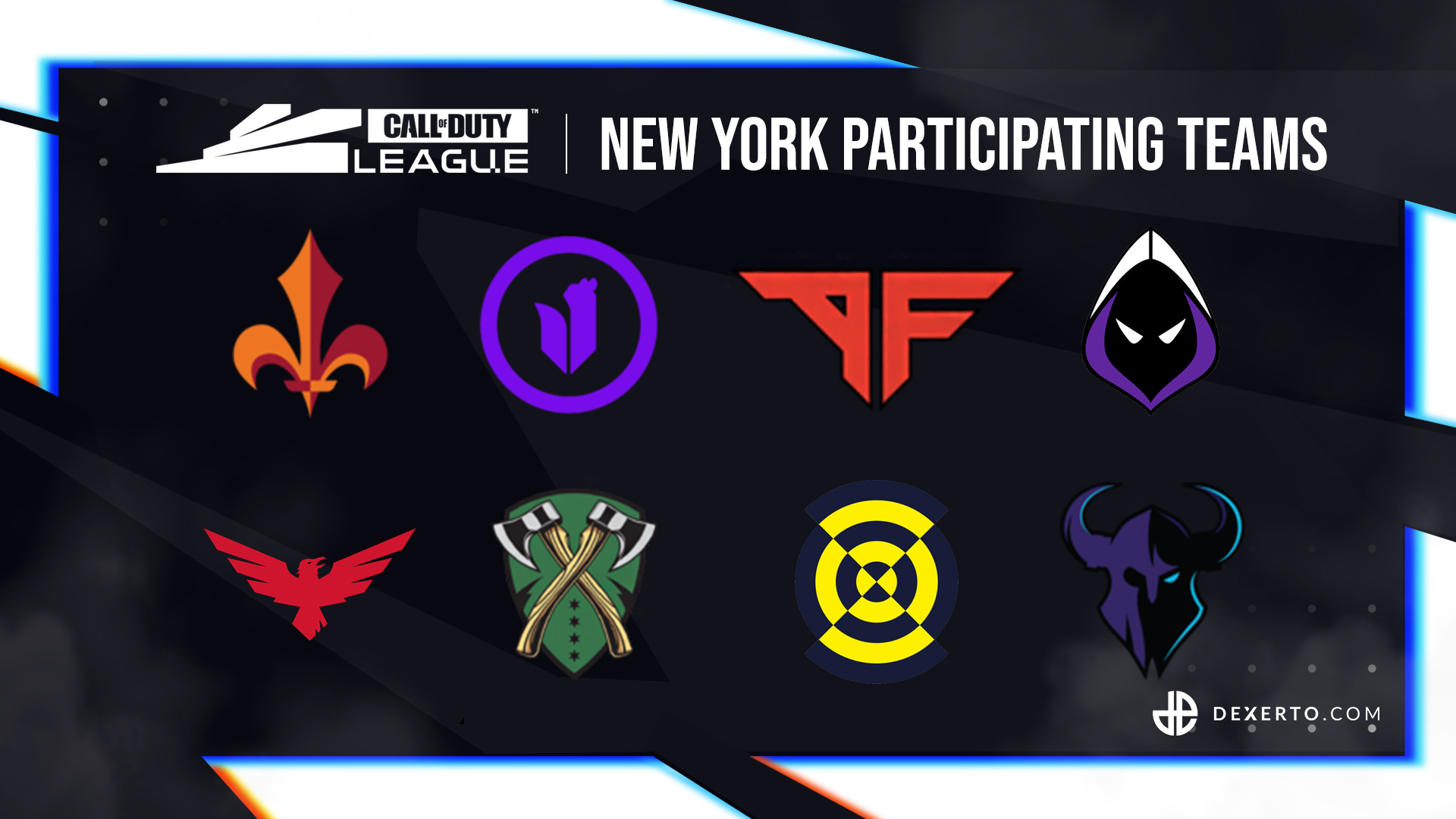 CDL New York participating teams.