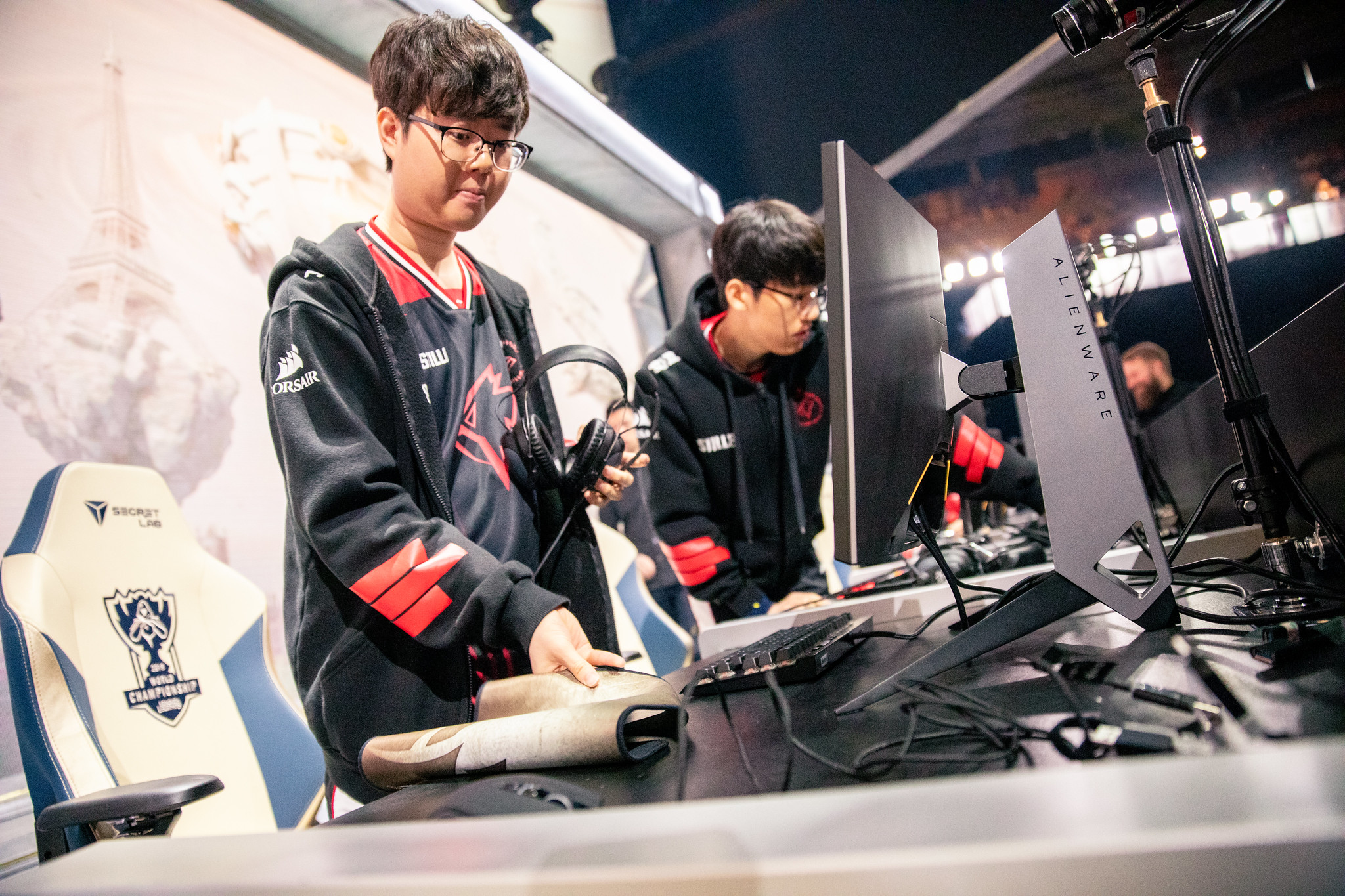 Sword at Worlds 2019 playing for Griffin