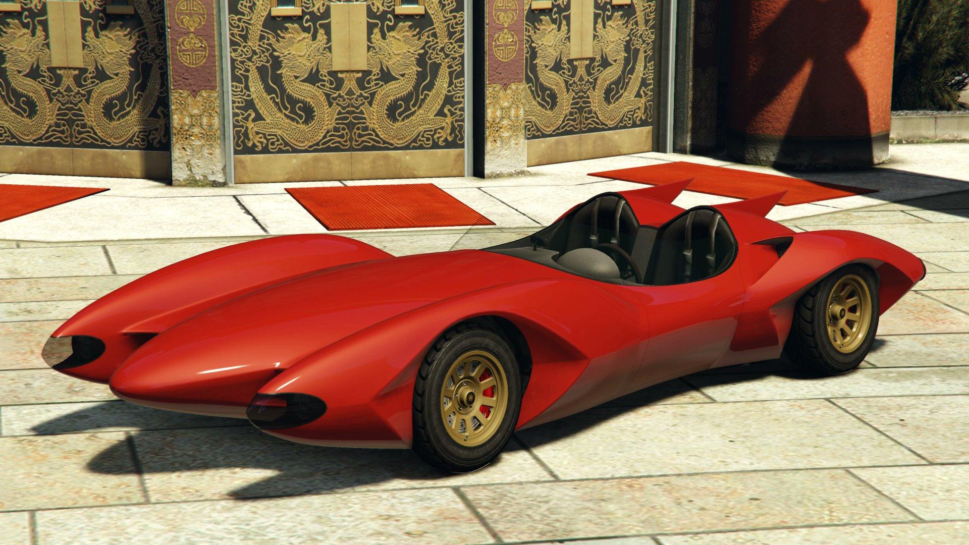 Scramjet car in GTA Online