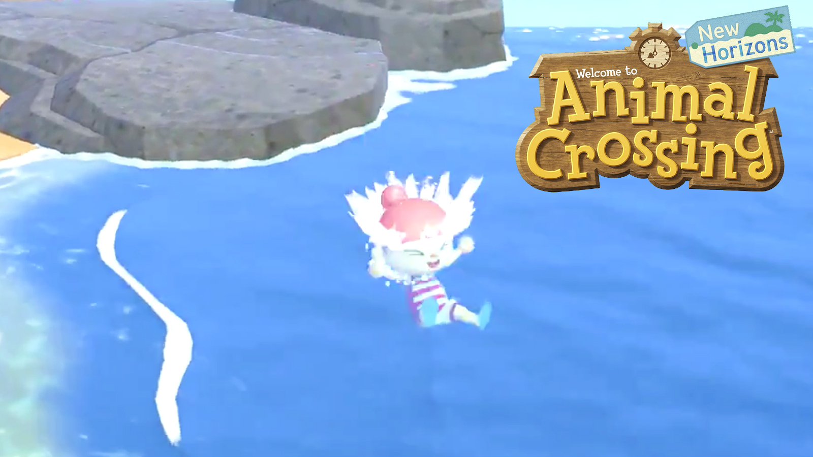 Animal crossing swimming update wave 1