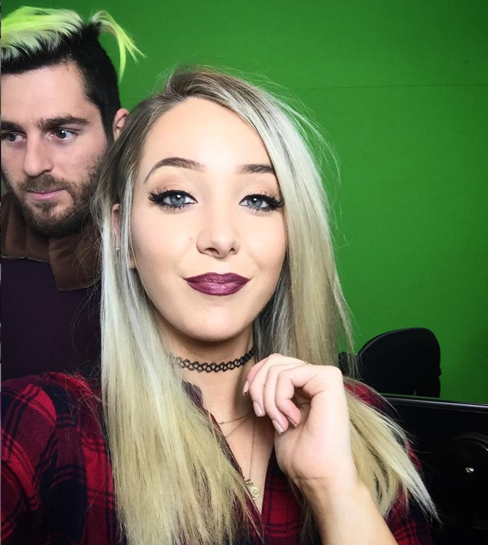 Jenna Marbles with boyfriend