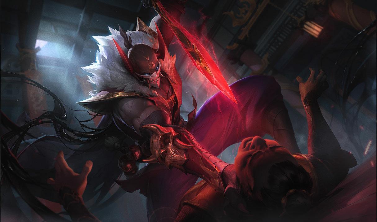 Blood Moon Pyke in League of Legends