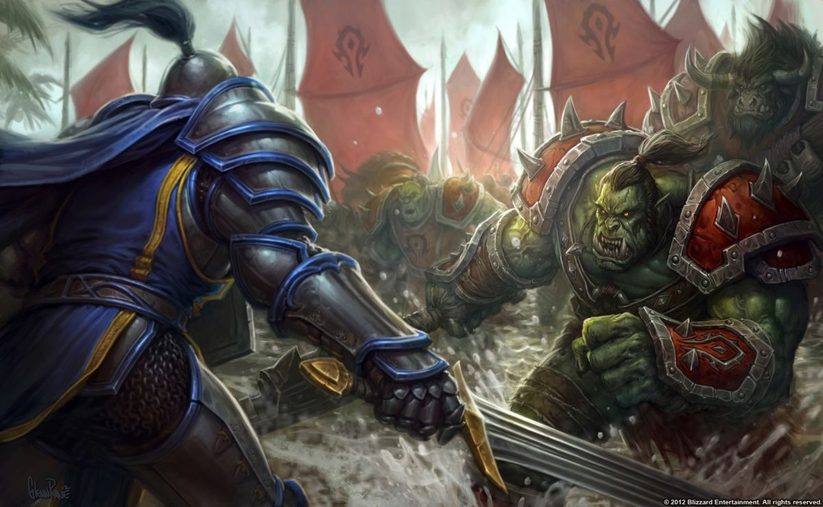 World of Warcraft has had its entire world built on the iconic Alliance vs Horde lore in the title's original series.