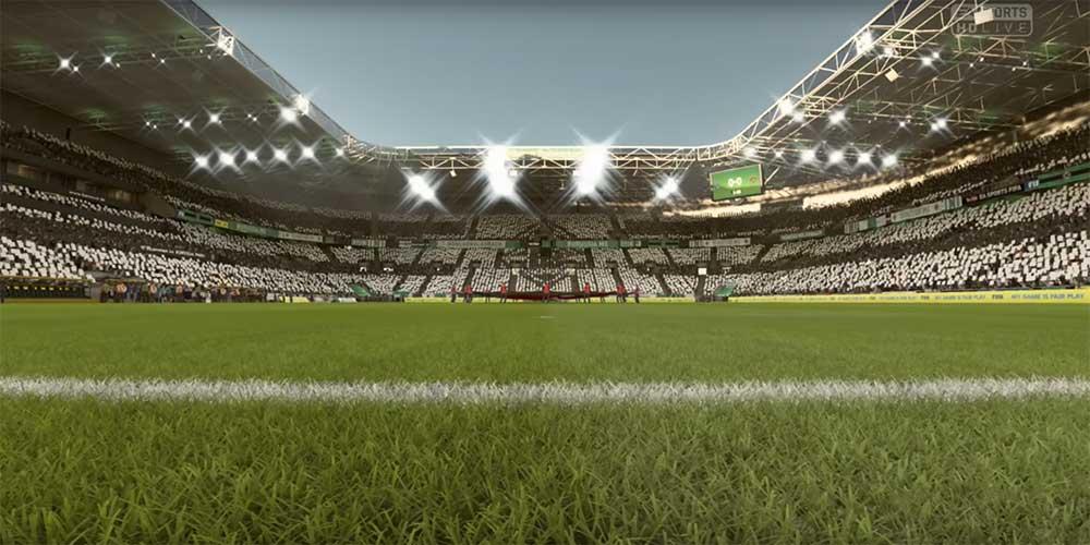 FIFA 20's Borussia Monchengladbach stadium