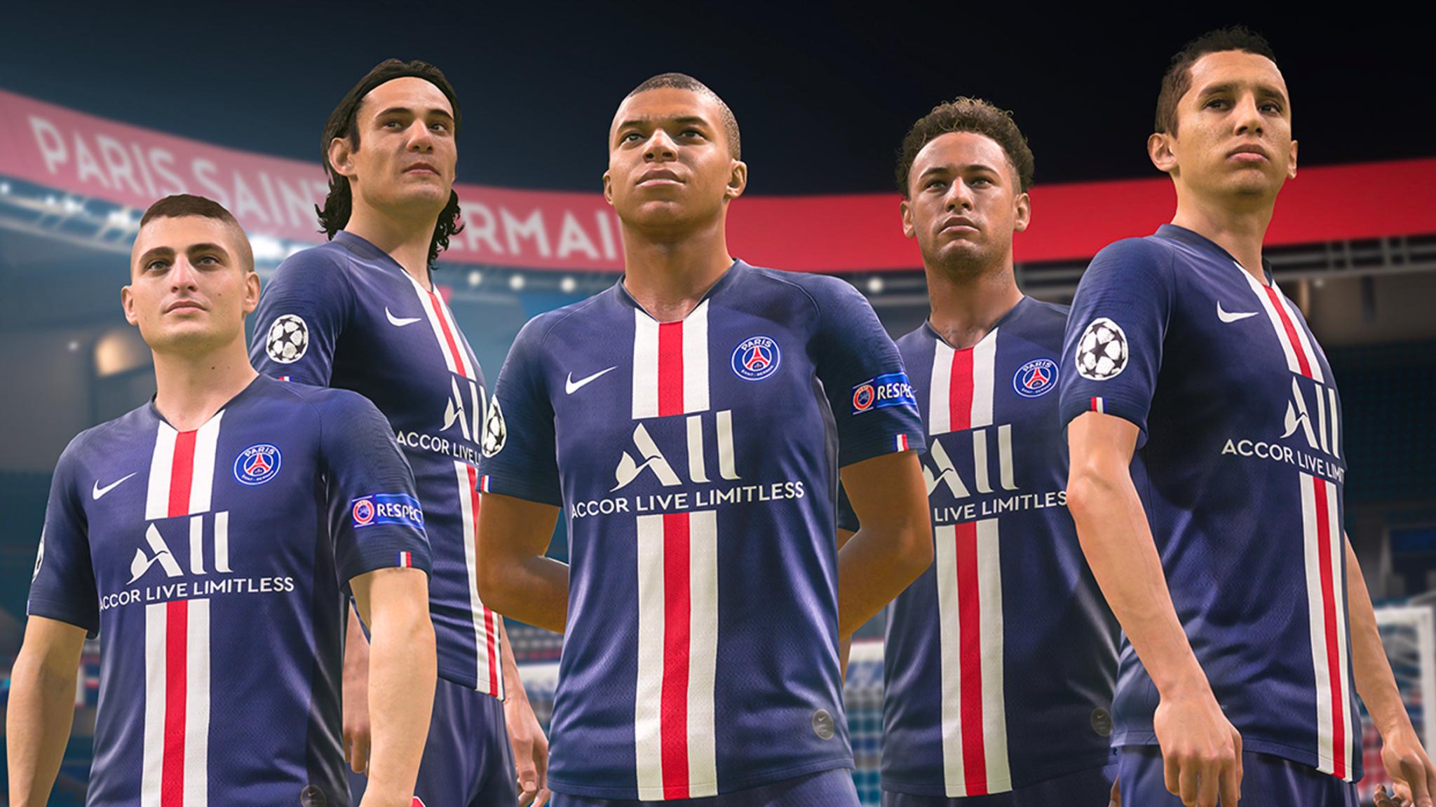 PSG in FIFA 20