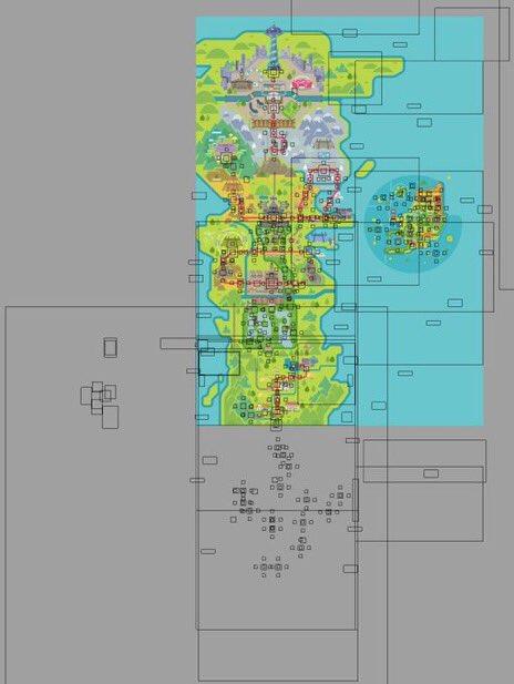 Galar Region Full Map