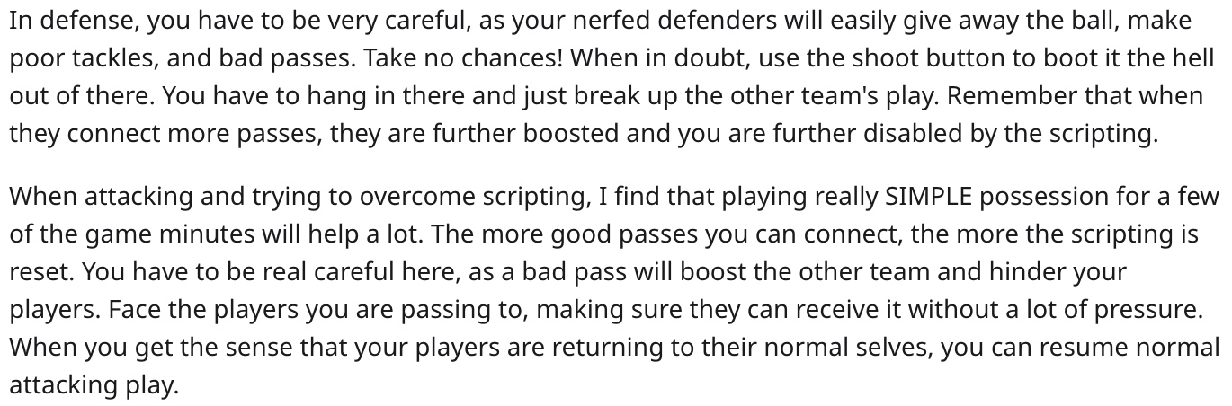 fifa 20 player provides counter to scripting