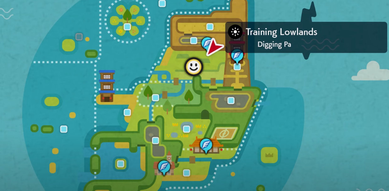 isle of armor map