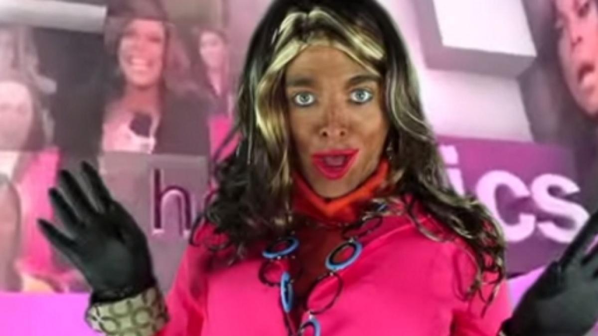 Shane Dawson blackface character
