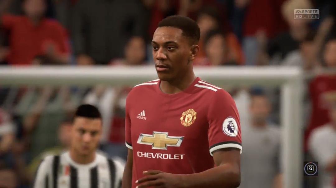 Martial in FIFA