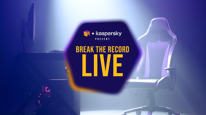 Break the Record Live