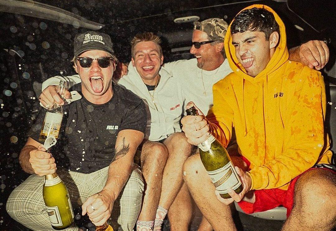 nelk boys champagne bottles