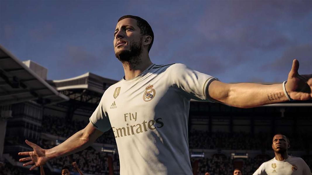 Eden Hazard for Real Madrid in FIFA 20