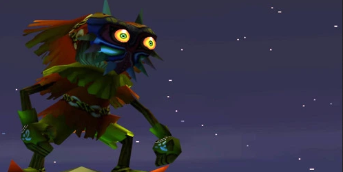 Skull Kid wearing Majora's Mask