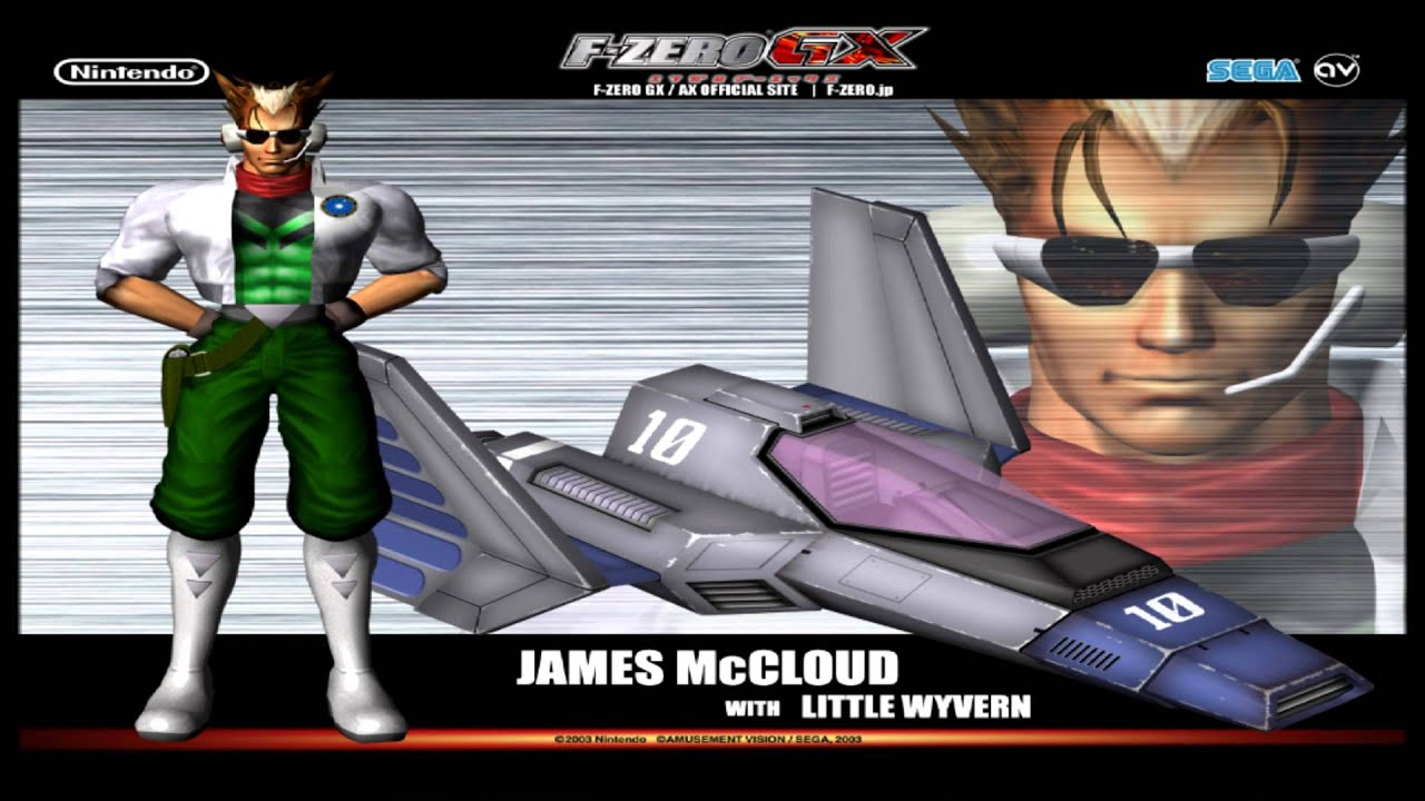 James McCloud from F-Zero