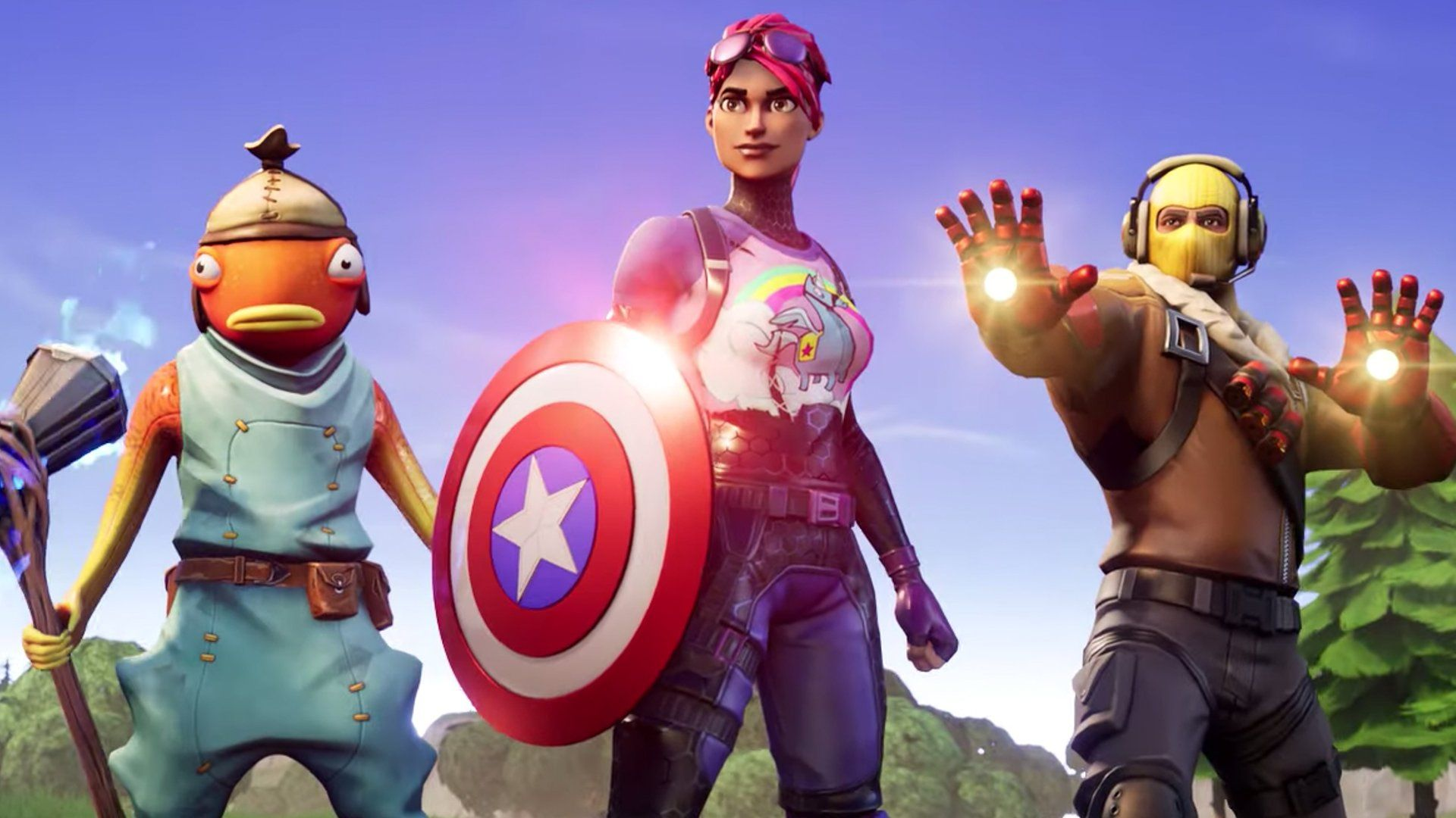 Captain America's shield has appeared in Fortnite before, during the Avengers Endgame crossover last year.