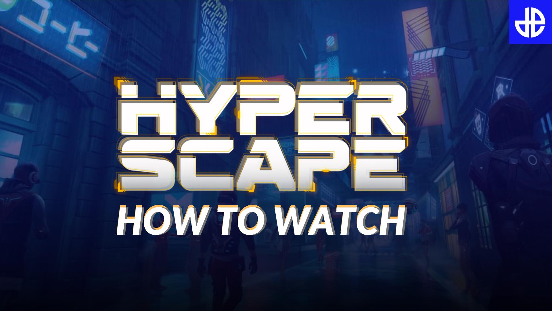 Hyper Scape reveal stream image