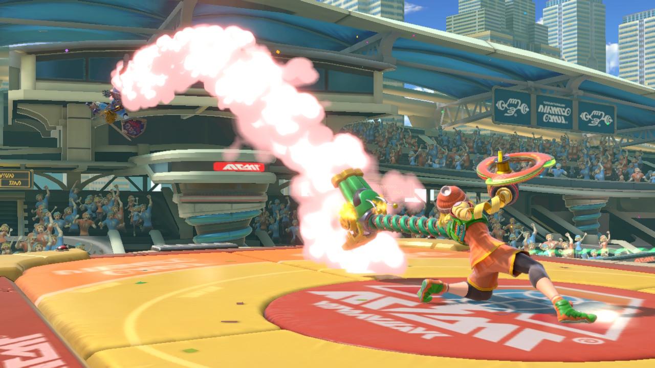 Dragon Smash attack