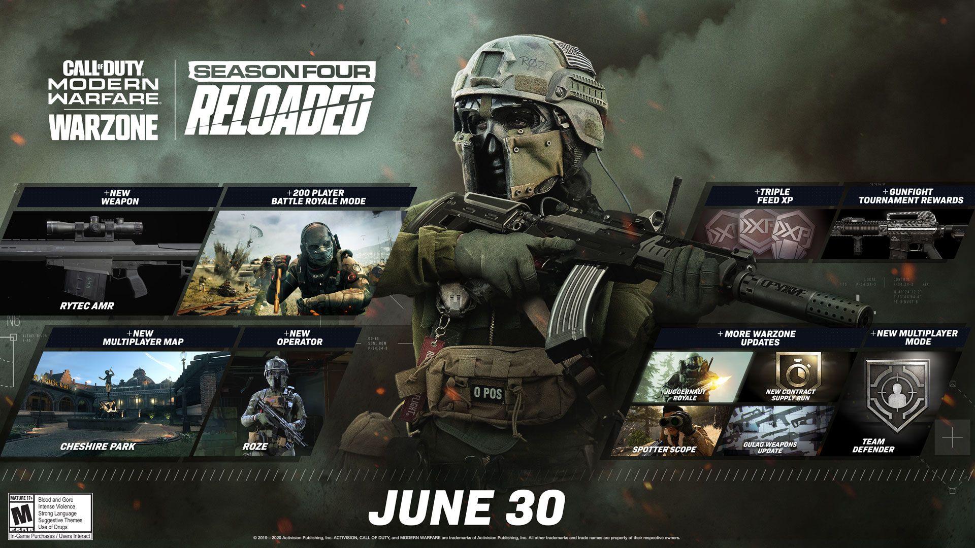 modern warfare season four reloaded