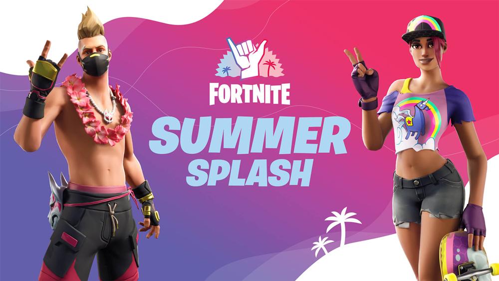 Fortnite Season 3 Summer Splash event artwork