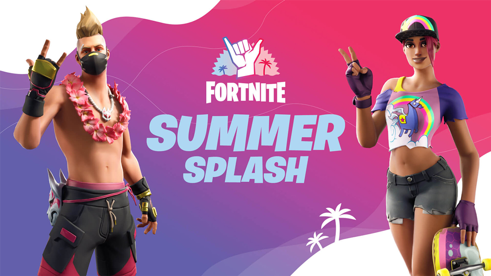 Fortnite Season 3 Summer Splash event artwork