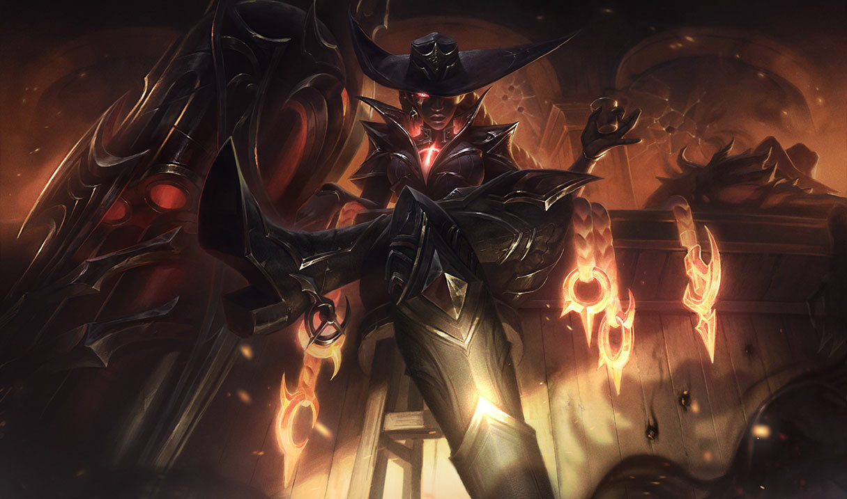 High Noon Senna in League of Legends