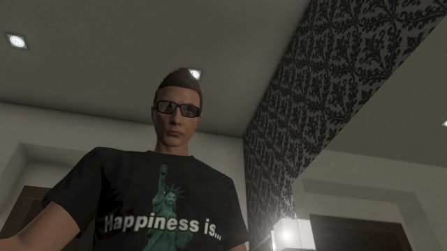 Statue of Happiness GTA Online shirt