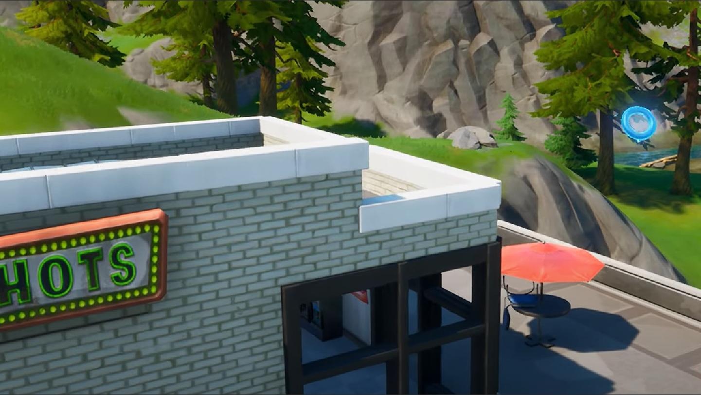 Big shots diner in Fortnite