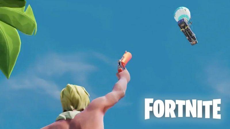 flare gun in fortnite