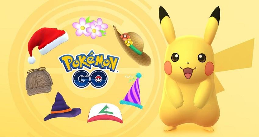 Pikachu Hats Pokemon Go
