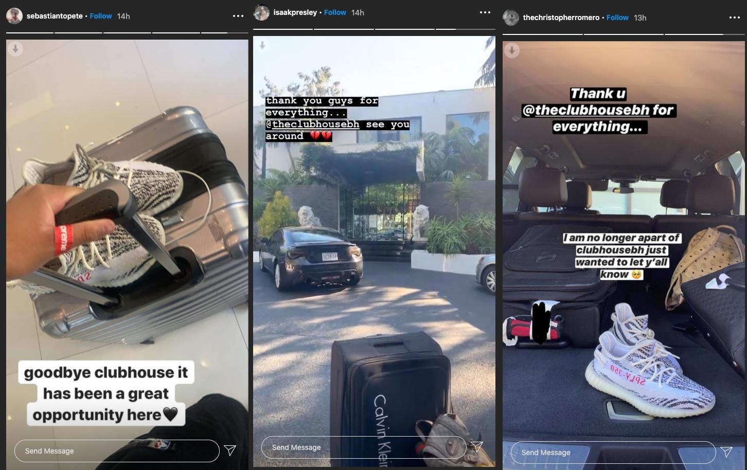 tiktok clubhouse members leave on instagram