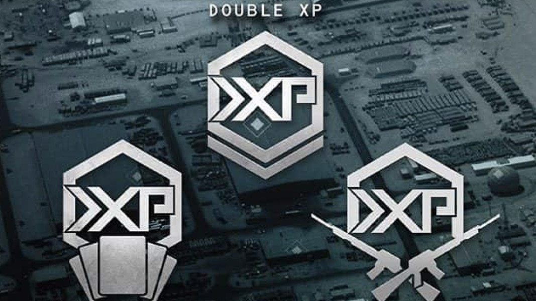 Double XP icons from Modern Warfare