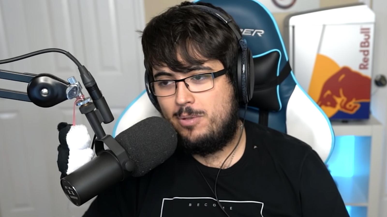 ZeRo speaking on YouTube