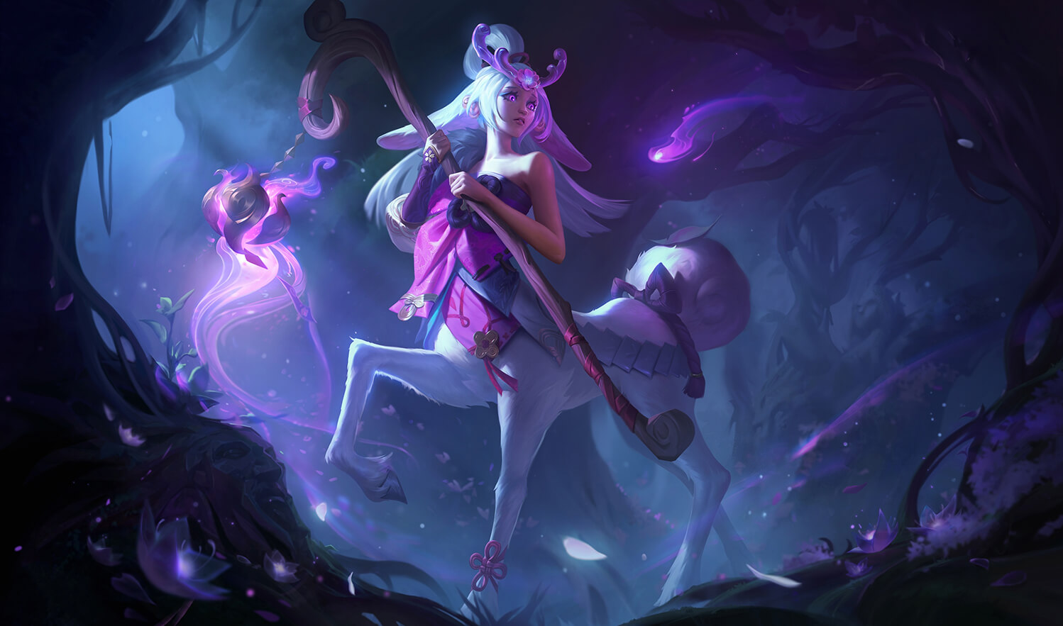 Spirit Blossom Lillia in League of Legends
