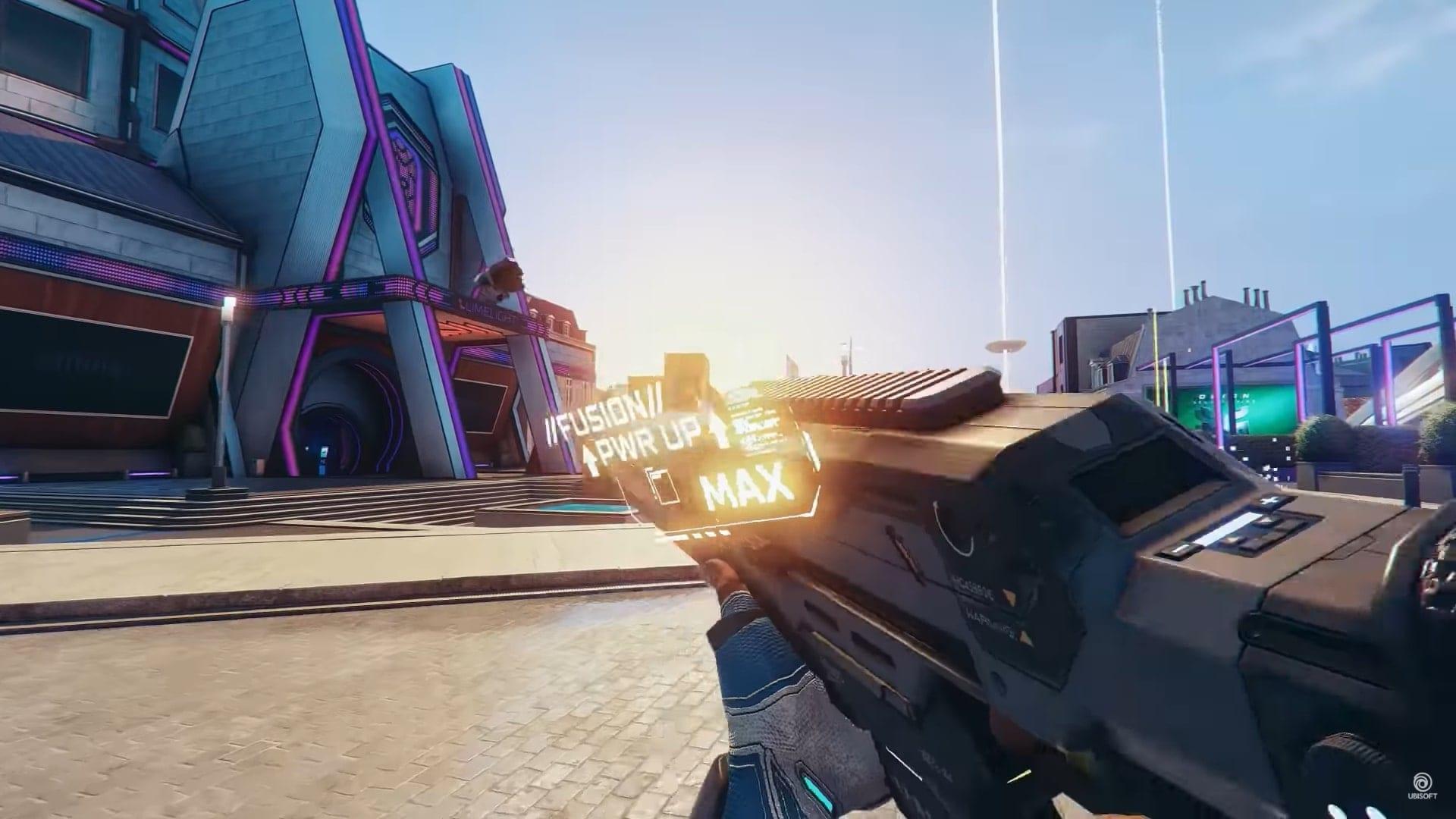 Hyper Scape weapon fusion max level