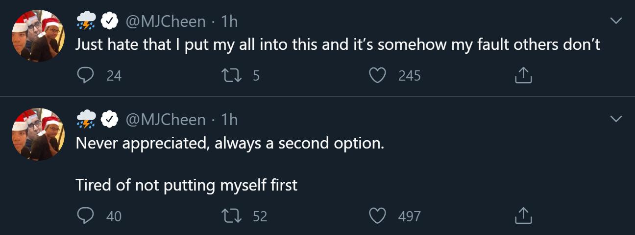 OpTic Gaming LA's Chino tweets