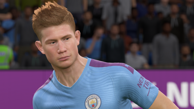 Kevin de Bryune shone this week against English champions Liverpool - could it get him into Team of the Week 29?