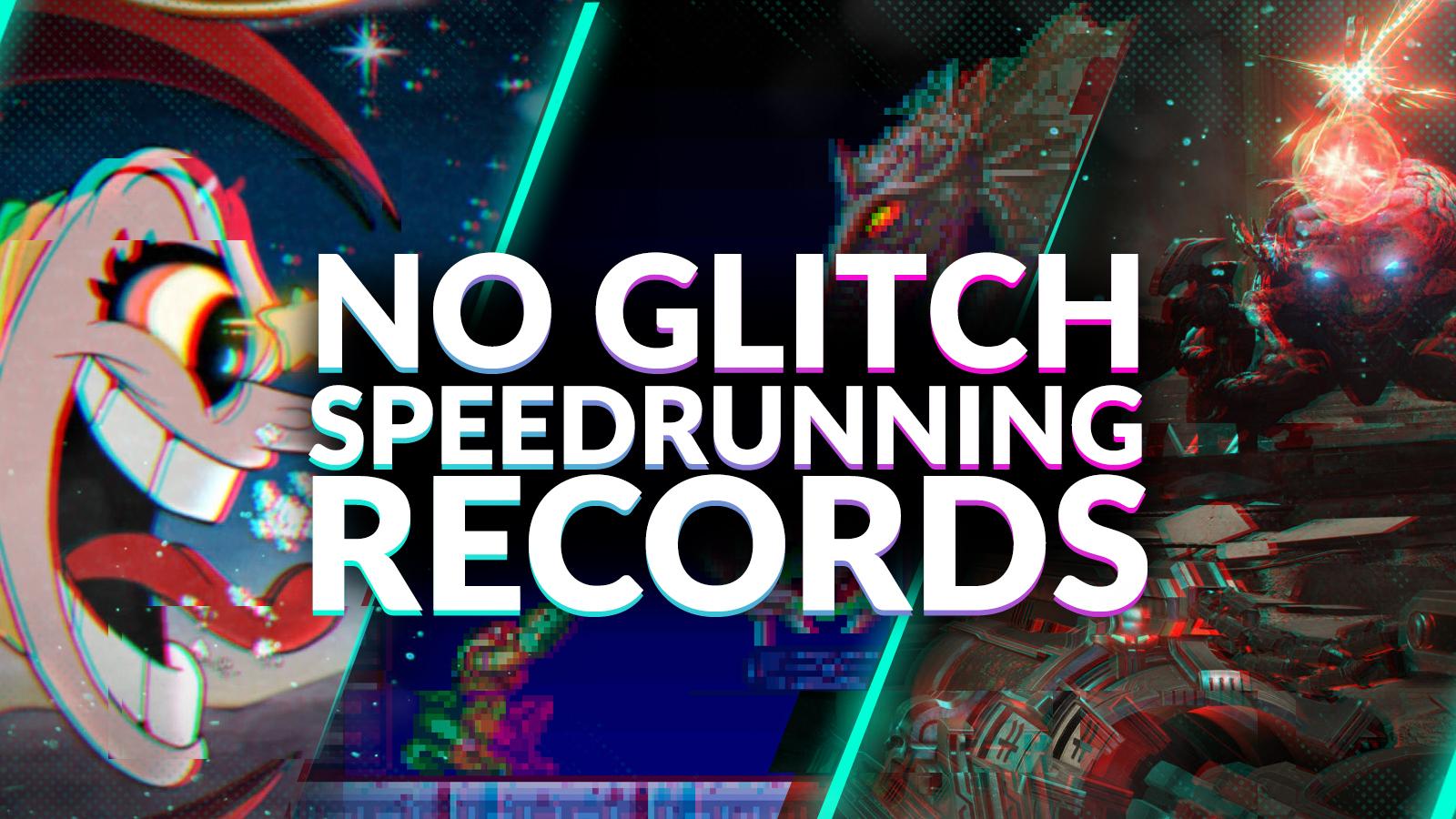 No glitch speedrunning records