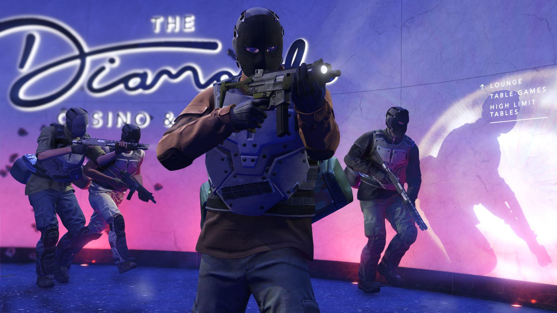Casino Heist in GTA