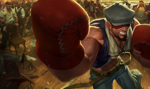 Knockout Lee Sin in League of Legends