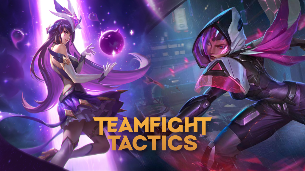 Star Guardian Syndra and Project Irelia for Teamfight Tactics