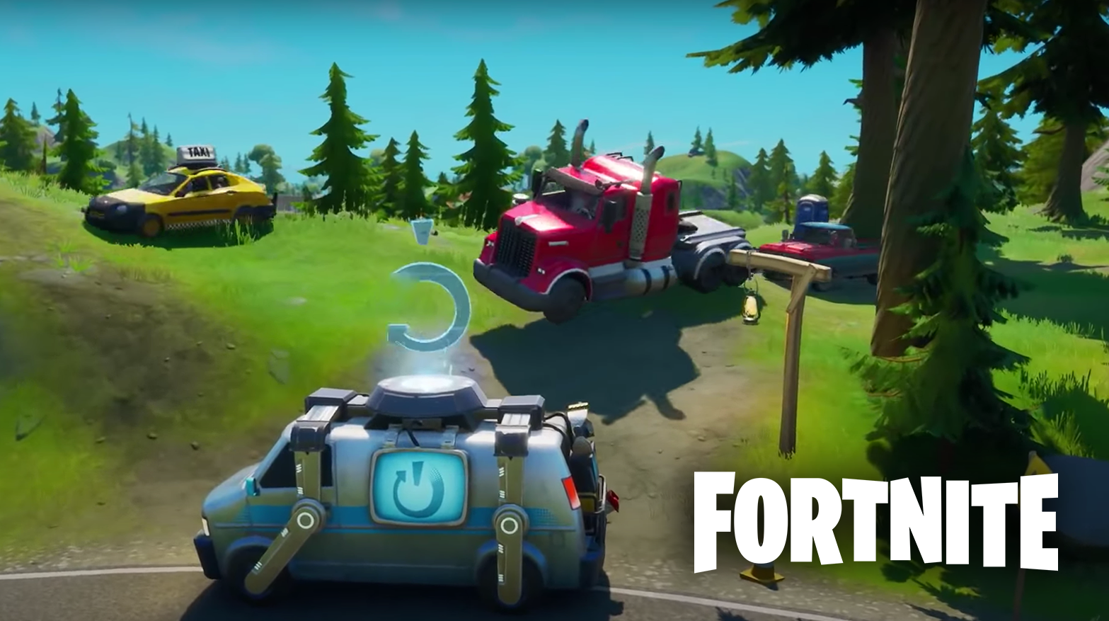 Fortnite Seasonj 3 vehicles