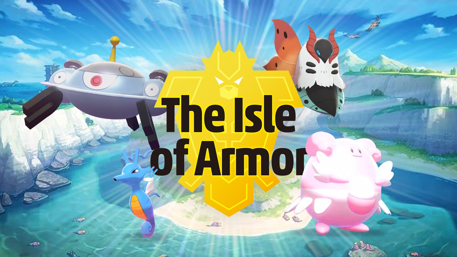 Pokemon Isle of Armor DLC
