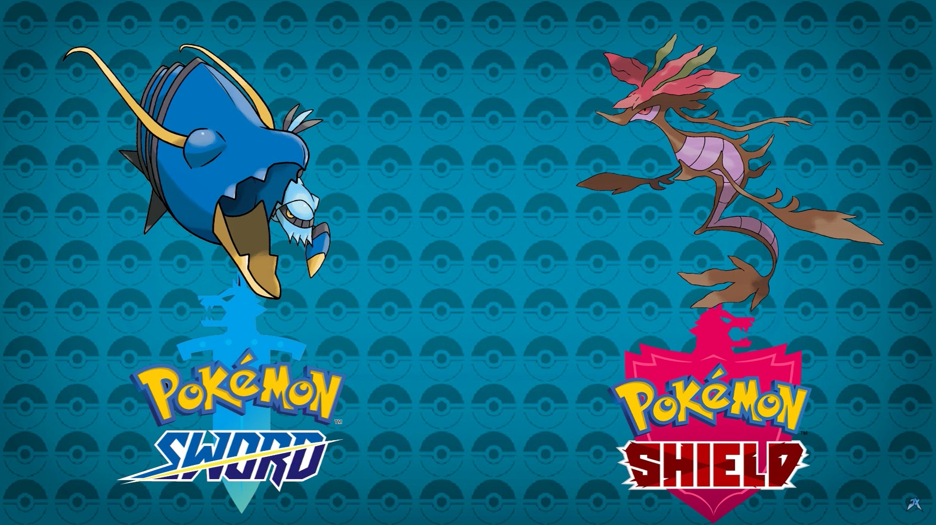 clawitzer and dragalge pokemon sword and shield