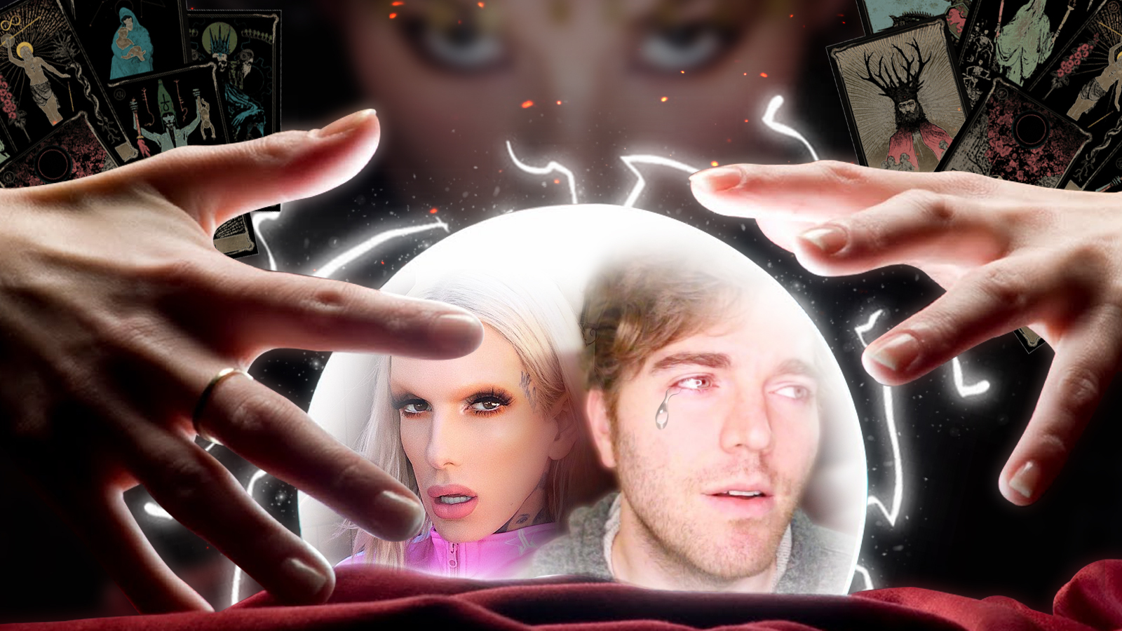 Tarot reader predicts downfall of Shane Dawson and Jeffree Star