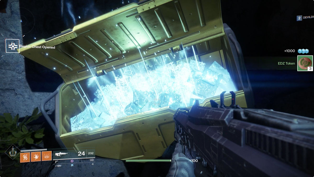 Destiny 2 Secret Chests