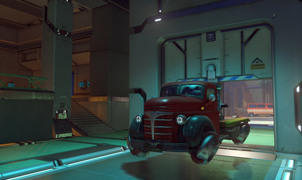 Payload on Dorado in Overwatch