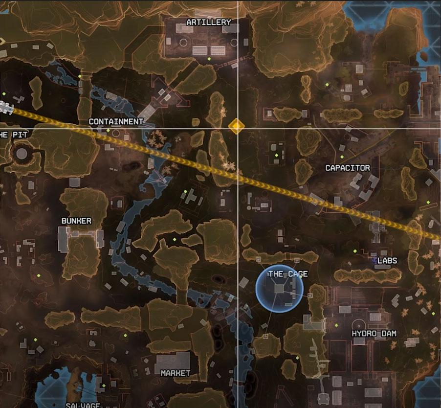 Third hidden bunker apex legends