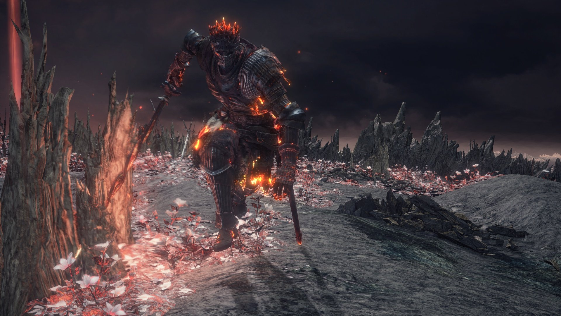 Dark Souls 3 Soul of Cinder boss fight