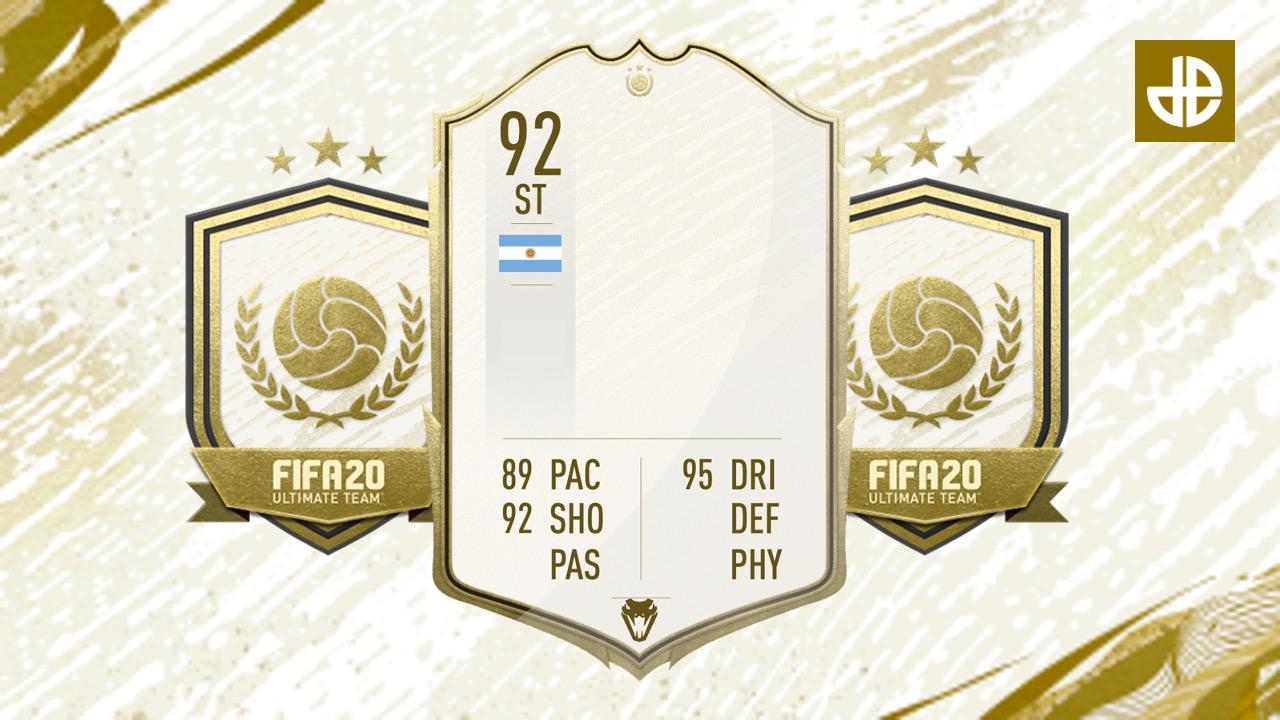 FIFA 20 ICON cards